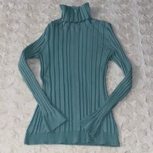 Rue 21 Teal Turtleneck Long Sleeve